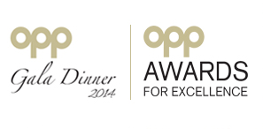 OPP Awards for Excellence 2014