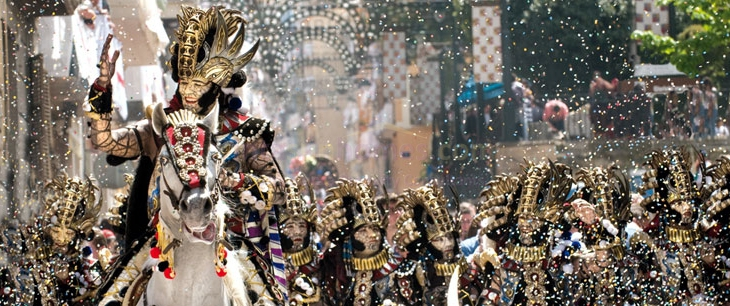 Murcia Moors and Christians Fiesta