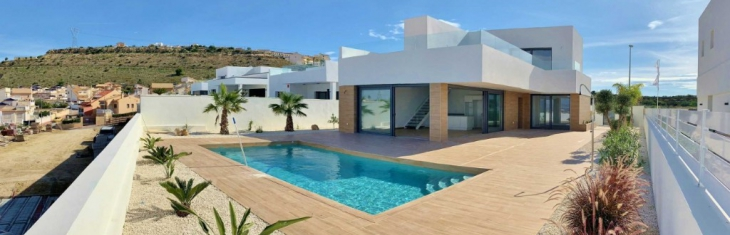 Discover how much life fits into this magnificent new villa for sale in Benimar through its open spaces